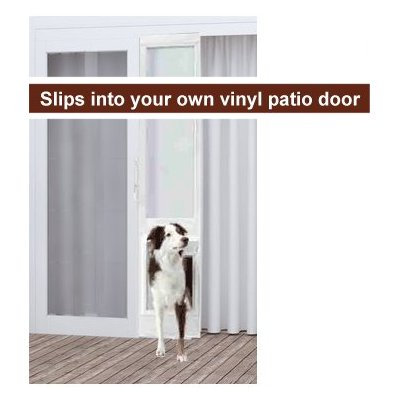 V I P Insuated Vinyl Patio Pet Door
