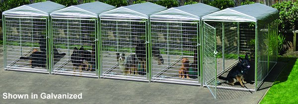Custom Configurations: - Professional, Outdoor & Backyard Kennels
