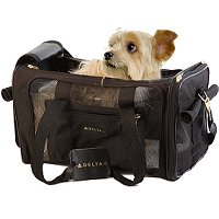 Delta Deluxe Sherpa Pet Carrier, Additional Presentation Information Available, Click to View