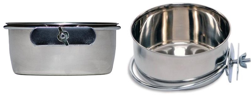 Stainless Steel Round Bowl; Bolt On Style