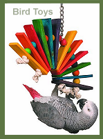 Knotrageous Bird Toy
